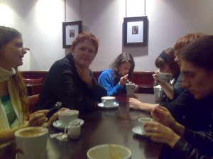 "Most of the ""Focus group"" being ""rewarded"" with Nero coffee"
